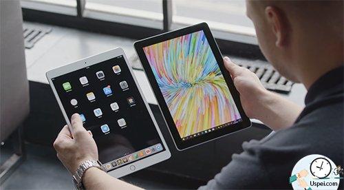Microsoft Surface Go - толстоватые рамки, они больше чем у iPad