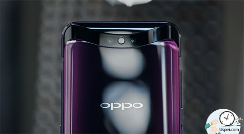 Oppo Find X - выезжающая камера с сенсорами