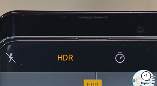 Oppo Find X - камера выезжает очень быстро