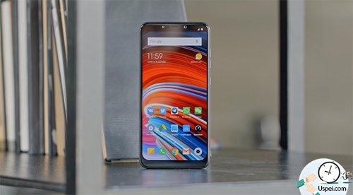 Xiaomi Pocophone F1 - поддерживает быструю зарядку