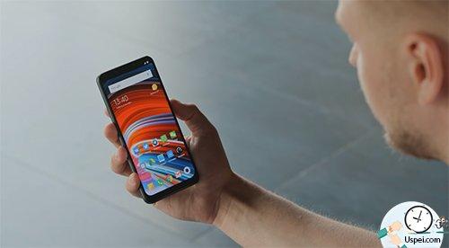 Xiaomi Pocophone F1 - сканер лица