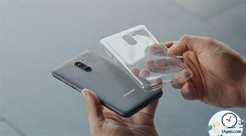 Xiaomi Pocophone F1 - силиконовый чехол