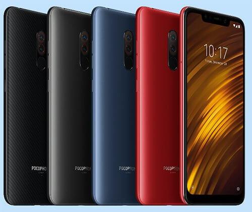 Xiaomi Pocophone F1 - 5 расцветок