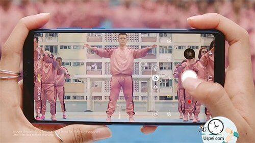 Samsung Galaxy A9 безрамочный дисплей