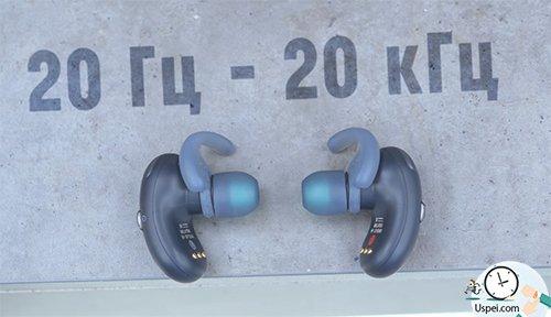 Sony WF-SP700N - две фирменные технологии Sony Extra Bass и Ambient Sound