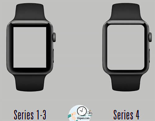 Apple Watch Series 4 экран стал больше а размер такой же компактный