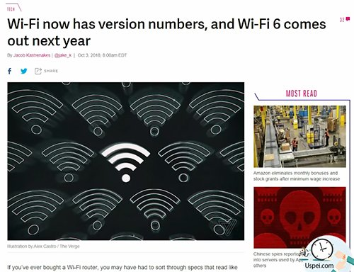 Wi-Fi Alliance переименовали стандарты Wi-Fi