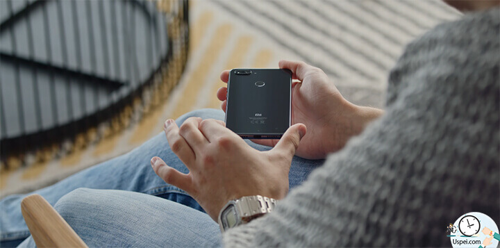 Xiaomi Mi 8 Lite черный - смотрится довольно по-взрослому
