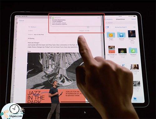 Ipad Pro 2018 - быстрые ответы в миниокнах