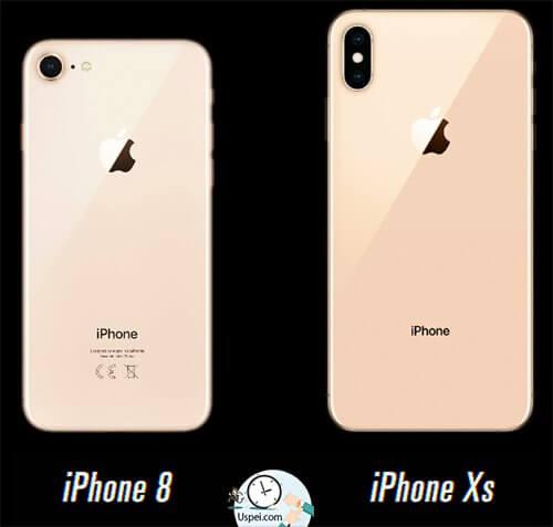Месяц с iPhone Xs и Xs Max - золотой цвет у восьмерки