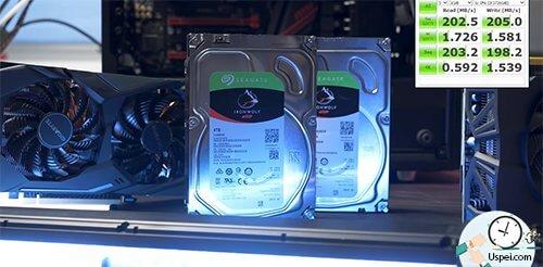 Я опросил всех знакомых операторов и большинство посоветовало 2 диска по 4 ТБ в RAID 1.