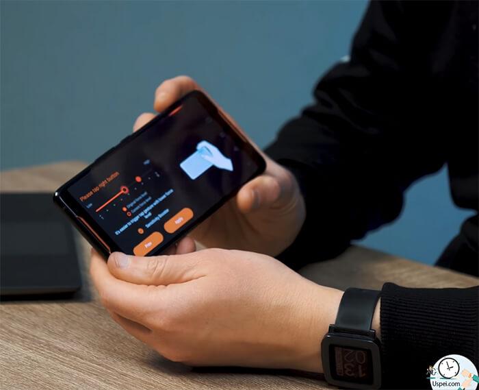ASUS ROG Phone: Сила триггеров настраивается, все интуитивно понятно