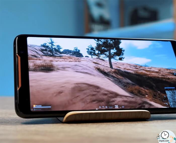 ASUS ROG Phone: Картинка живее, даже если не играть, а просто листать инсту или твиттер.