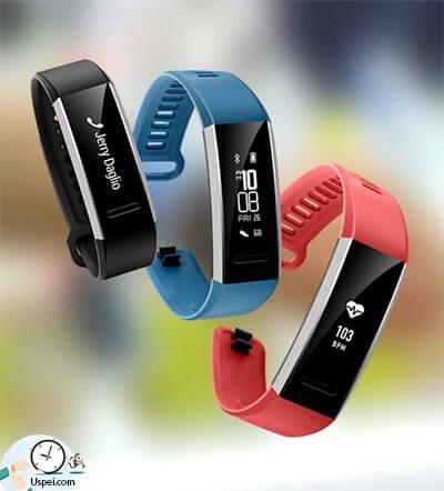 Обзор фитнес-браслета Huawei Band 2 Pro - три расцветки черный синий и красный