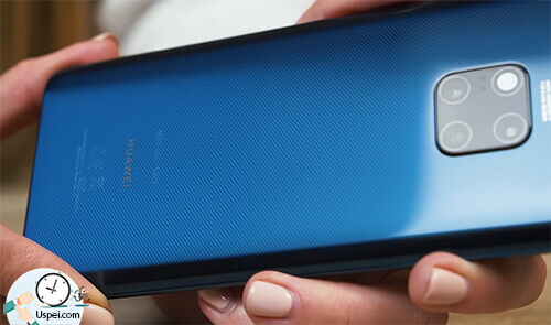 Huawei Mate 20 Pro: синий-полосатый