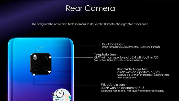 Huawei Mate 20 Pro: три камеры
