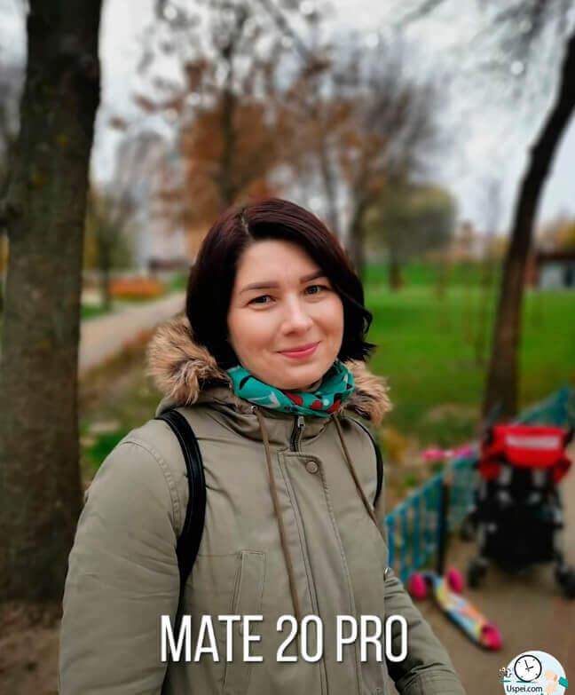 Huawei Mate 20 Pro: Портретный режим