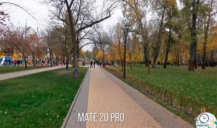 Huawei Mate 20 Pro: Все камеры можно использовать для записи видео