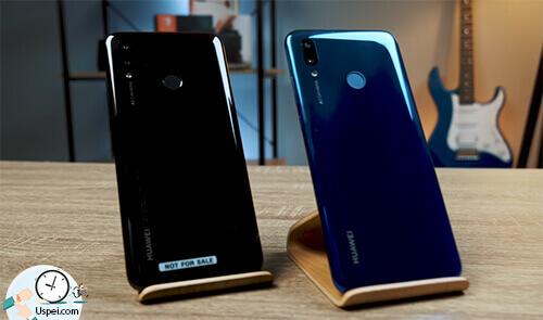 "Huawei P Smart 2019: в двух цветах - черном и цвете ""северное сияние"""
