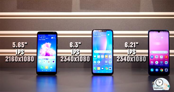 Huawei P Smart - дисплей