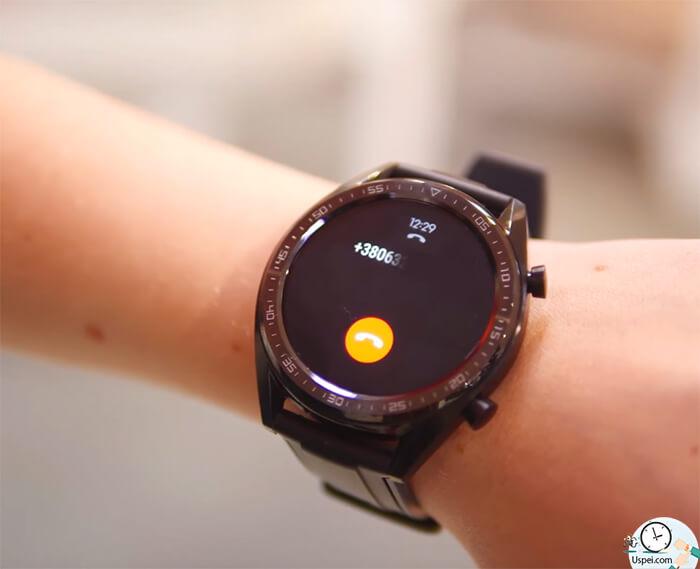 Huawei Watch GT: выводится только имя контакта, без аватарки, и единственное, что можно сделать – сбросить вызов.