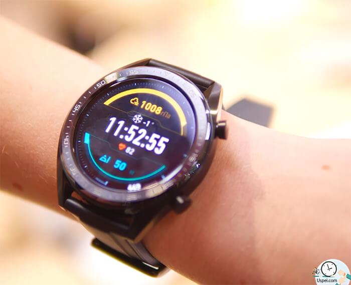 Huawei Watch GT: Дизайн и габариты