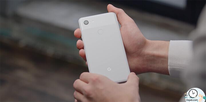 Pixel 3 и Pixel 3XL белый