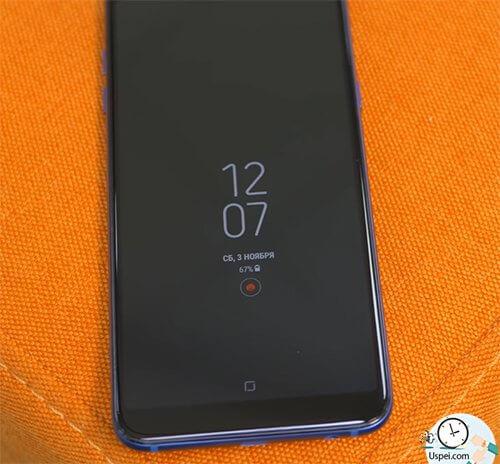 Samsung Galaxy J8 VS A6+:  Always on Display