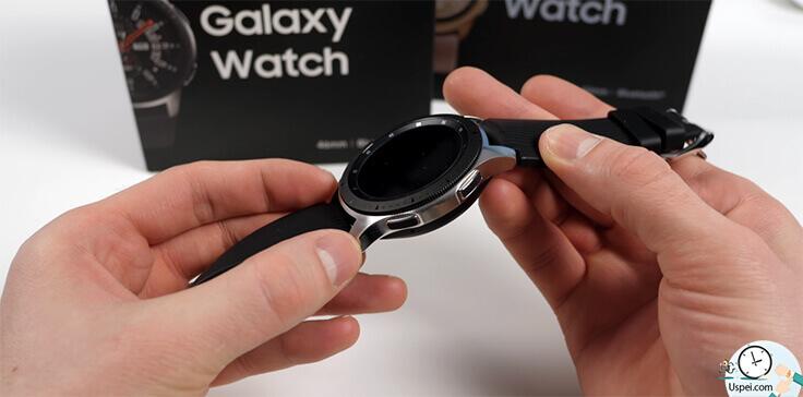 Samsung Galaxy Watch: Во многом Galaxy Watch предлагают больше возможности по кастомизации интерфейса и установки стороннего софта.