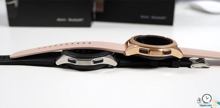 Samsung Galaxy Watch: в женской версии резина дешевит