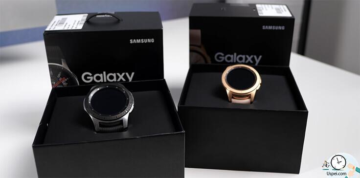 Samsung Galaxy Watch: сходите в шоу-рум, померейте их, посмотрите как работает интерфейс операционной системы, удобен ли он будет для вас.