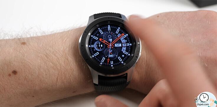 Samsung Galaxy Watch: Очень зашла фишка с кольцом управления и кнопками