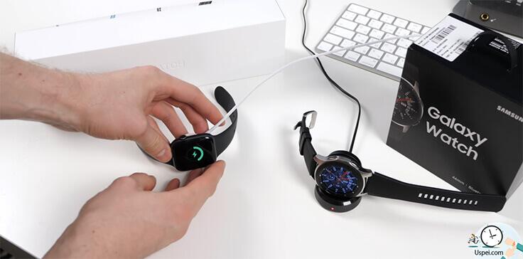 Samsung Galaxy Watch: Очень понравился зарядный док