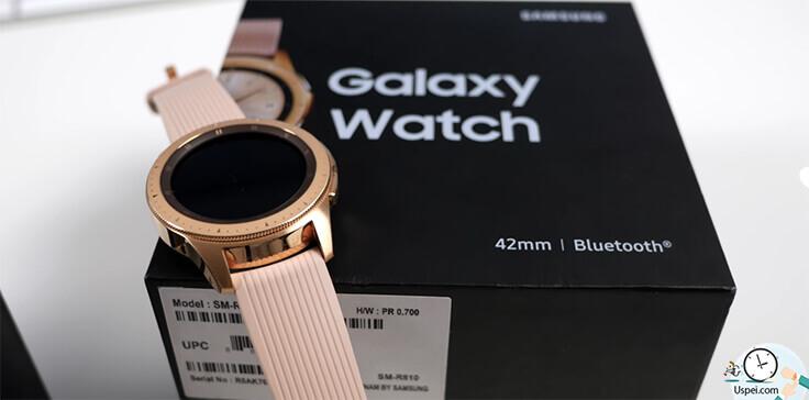 Samsung Galaxy Watch: понравилось автоматическое определение активностиф