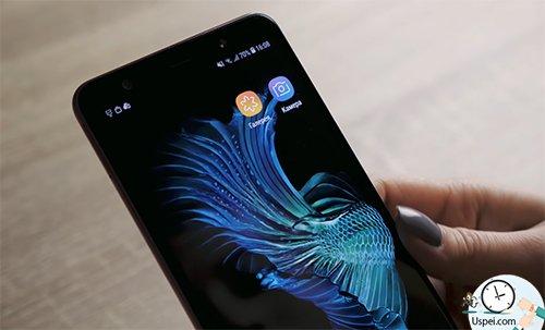 Samsung Galaxy A7: Именно такой фон использовать предпочтительнее