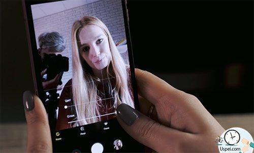 Samsung Galaxy A7: бьютификатор