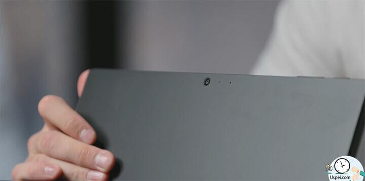 Обзор Surface Pro 6: Сзади камера уже на 8 мегапикселей, тоже умеет снимать FHD, но ей никогда никто не пользуется