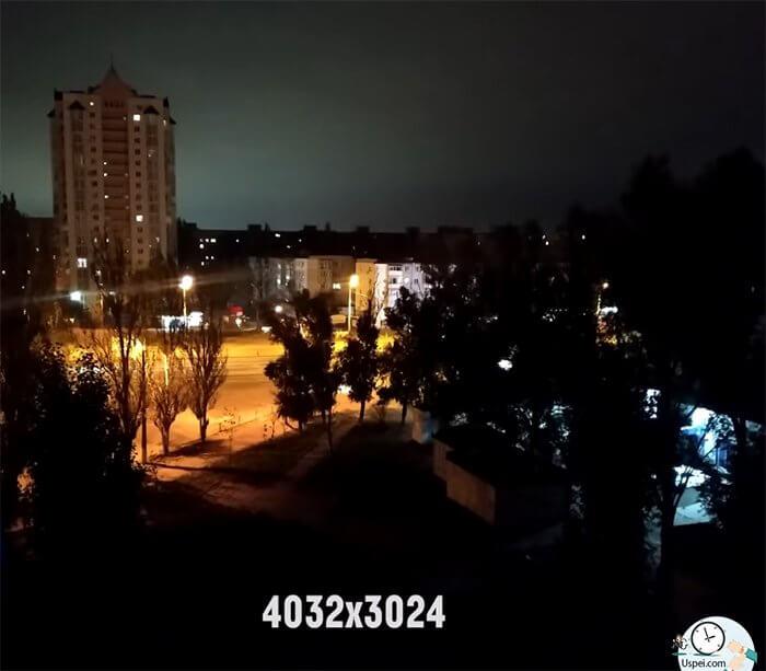 Xiaomi Mi 8 Lite - пример ночного фото основной камеры