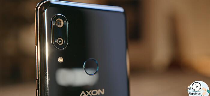 ZTE Axon 9 Pro очень быстрый сканер отпечатка пальцев