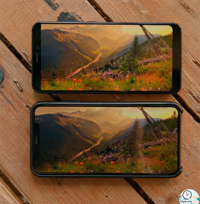 ZTE Axon 9 Pro - Iphone XS MAX, в сравнении с Axon