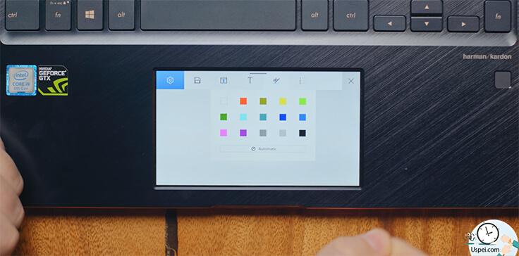 ZenBook Pro (2018) - настройка тачпада
