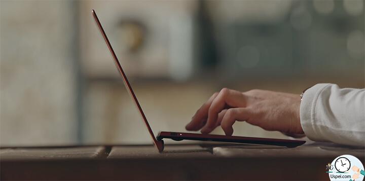 ZenBook S: одно из преимуществ - компактность
