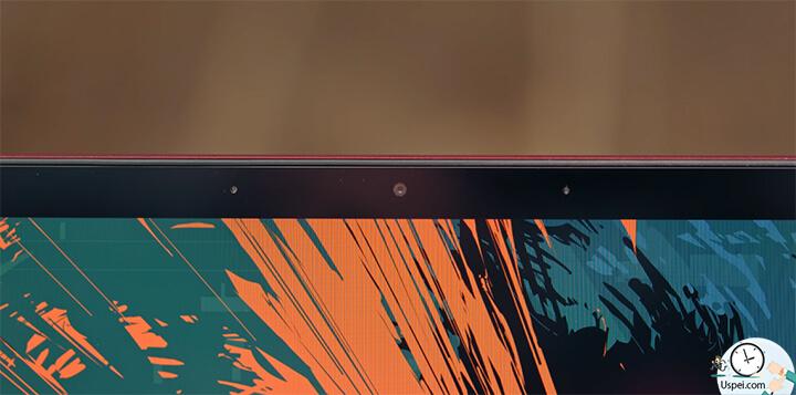 ZenBook S: Вокруг дисплея тонкие рамки толщиной 5,9 мм, сверху hd камера для видеозвонков