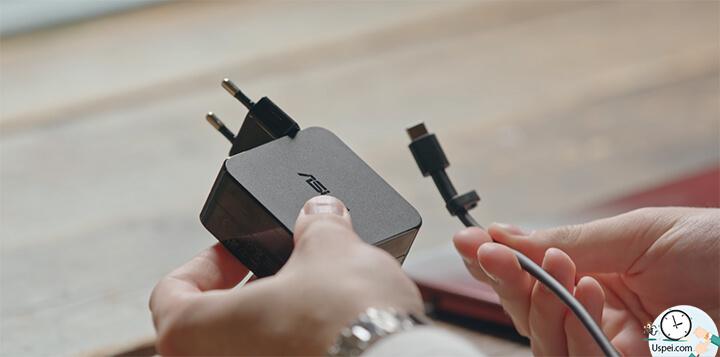 ZenBook S: есть зарядное устройство
