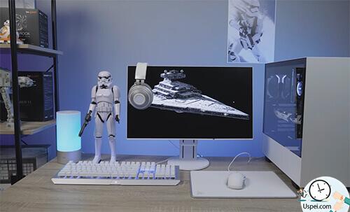 решил оформить все в стиле Star Wars, всё-таки сетап игровой и я люблю тематику «Звёздных войн».
