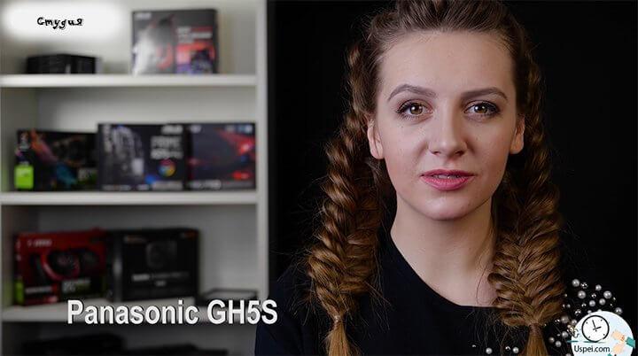 iPhone X vs Panasonic GH5S Студия со специализированным светом