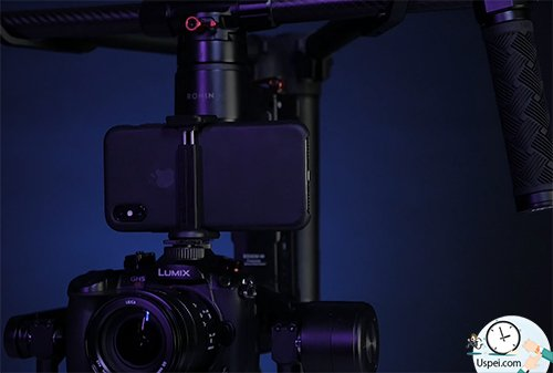 iPhone X vs Panasonic GH5S