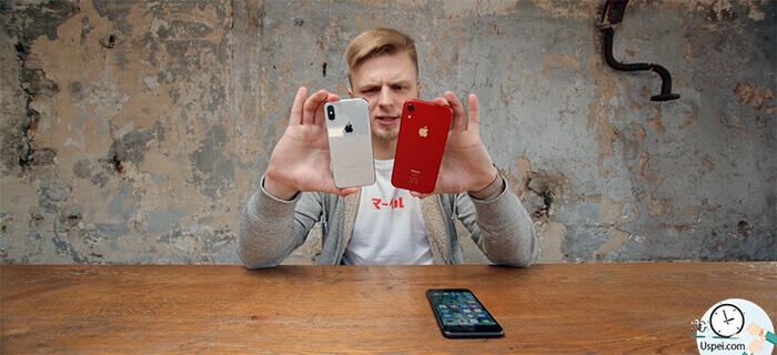 """Можно сказать то, что """"iPhone X более компактный и значит удобный"""", но в целом то посмотрите - размер то примерно одинаковый"""