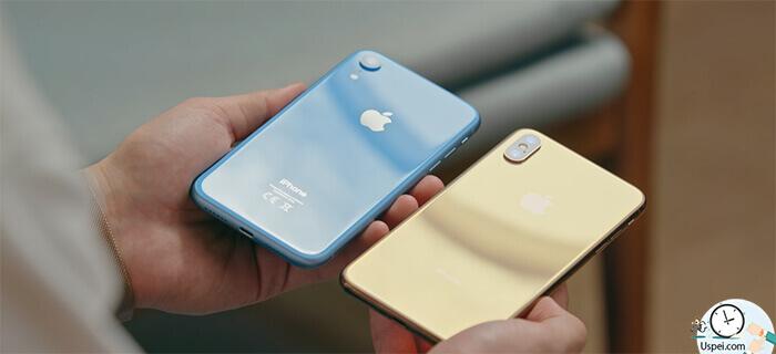 Обзор iPhone XR: сравнение размеров