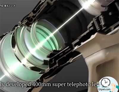 внутри объектива находится множество линз, которые направляют световой поток на матрицу, а та уже создает изображение.